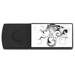 L531 2GB USB Flash Drive (Rectangle)