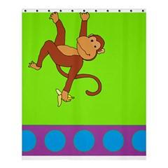 Hang ng Shower Curtain 60  X 72  (medium)