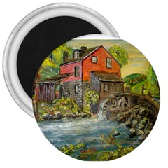 Daniels Mill   Ave Hurley   3  Button Magnet