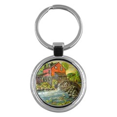 Daniels Mill   Ave Hurley   Key Chain (round)