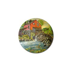Daniels Mill   Ave Hurley   Golf Ball Marker 4 Pack