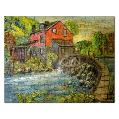 Daniels Mill   Ave Hurley   Jigsaw Puzzle (Rectangle)
