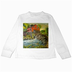 Daniels Mill   Ave Hurley   Kids Long Sleeve T-Shirt