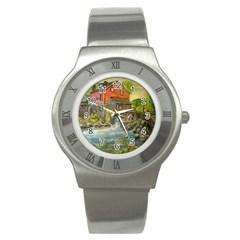 Daniels Mill   Ave Hurley   Stainless Steel Watch (Slim)