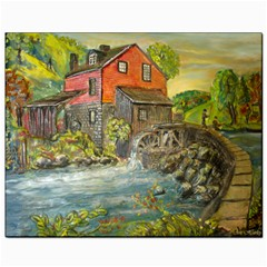 Daniels Mill   Ave Hurley   Canvas 8  X 10  (unframed)
