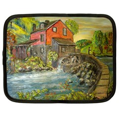 Daniels Mill   Ave Hurley   Netbook Sleeve (Large)