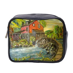 Daniels Mill   Ave Hurley   Mini Travel Toiletry Bag (two Sides)