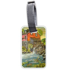 Daniels Mill   Ave Hurley   Luggage Tag (Two Sides)