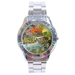 Daniels Mill   Ave Hurley   Stainless Steel Watch