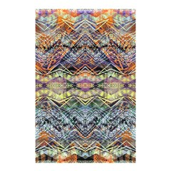 Zig Zag Shower Shower Curtain 48  X 72  (small)