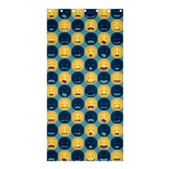 Smiley Crowd Shower Curtain 36  x 72  (Stall)