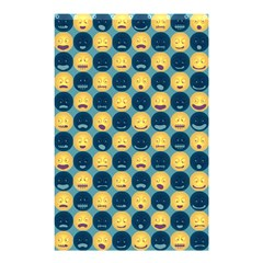 Smiley Crowd Shower Curtain 48  x 72  (Small)
