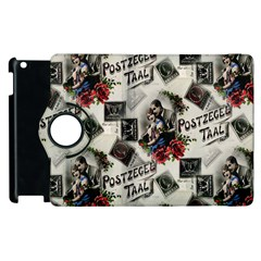 Vintage Valentine Postcard Apple iPad 2 Flip 360 Case