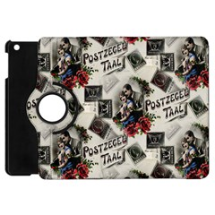 Vintage Valentine Postcard Apple iPad Mini Flip 360 Case