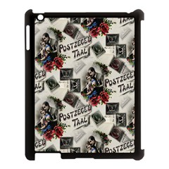 Vintage Valentine Postcard Apple iPad 3/4 Case (Black)