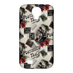 Vintage Valentine Postcard Samsung Galaxy S4 Classic Hardshell Case (PC+Silicone)