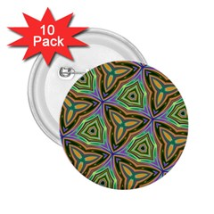 Elegant Retro Art 2 25  Button (10 Pack)