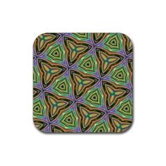 Elegant Retro Art Drink Coasters 4 Pack (square)