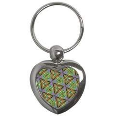 Elegant Retro Art Key Chain (Heart)