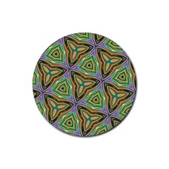 Elegant Retro Art Drink Coaster (Round)