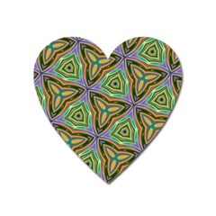 Elegant Retro Art Magnet (heart)