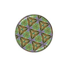 Elegant Retro Art Golf Ball Marker 4 Pack (for Hat Clip)