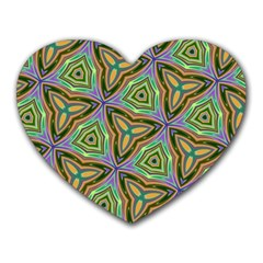Elegant Retro Art Mouse Pad (Heart)