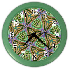 Elegant Retro Art Wall Clock (Color)