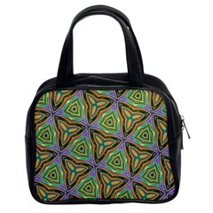 Elegant Retro Art Classic Handbag (Two Sides)