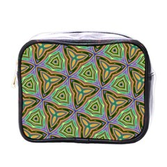 Elegant Retro Art Mini Travel Toiletry Bag (One Side)