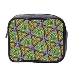 Elegant Retro Art Mini Travel Toiletry Bag (Two Sides)