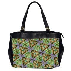 Elegant Retro Art Oversize Office Handbag (Two Sides)