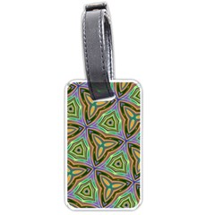Elegant Retro Art Luggage Tag (Two Sides)