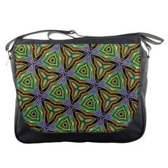 Elegant Retro Art Messenger Bag