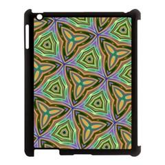 Elegant Retro Art Apple iPad 3/4 Case (Black)