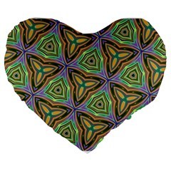 Elegant Retro Art 19  Premium Heart Shape Cushion