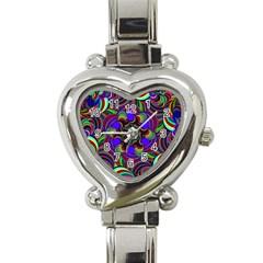 Sw Heart Italian Charm Watch