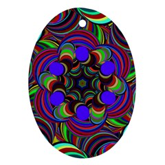 Sw Oval Ornament (Two Sides)