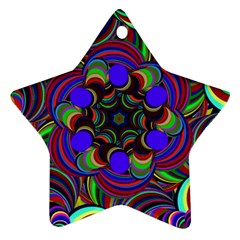 Sw Star Ornament (two Sides)