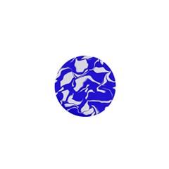 Swirl 1  Mini Button Magnet