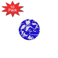 Swirl 1  Mini Button (10 Pack)