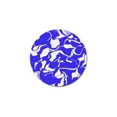 Swirl Golf Ball Marker