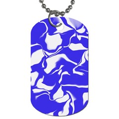 Swirl Dog Tag (Two-sided)