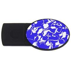 Swirl 1GB USB Flash Drive (Oval)