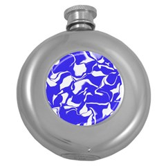Swirl Hip Flask (Round)