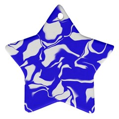 Swirl Star Ornament (two Sides)