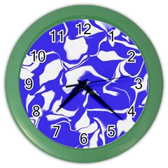 Swirl Wall Clock (Color)