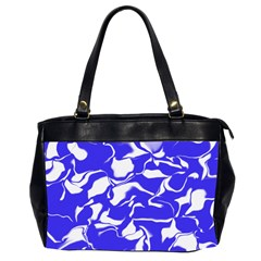 Swirl Oversize Office Handbag (Two Sides)