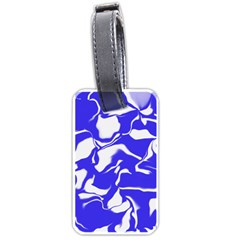 Swirl Luggage Tag (one Side)