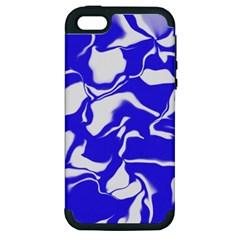 Swirl Apple iPhone 5 Hardshell Case (PC+Silicone)